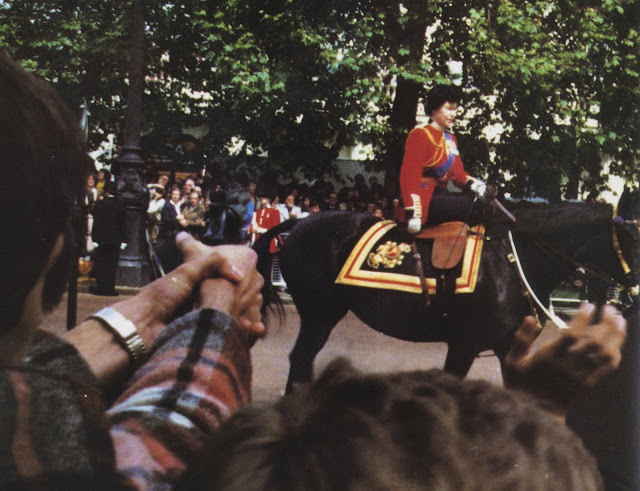 The Queen Shot At by a Teenager During Trooping the Colour, 1981