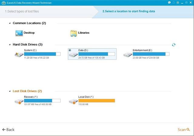 Cara mengembalikan data partisi yang terhapus saat install ulang 3