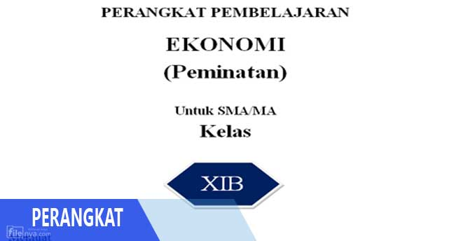 Rpp Ekonomi Peminatan Sma Ma Kurikulum 2013 Kelas Xi 11 Terbaru Filenya