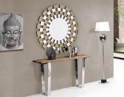 Muebles de Comedor por La Decoradora Experta: Comedores en acero y ...
