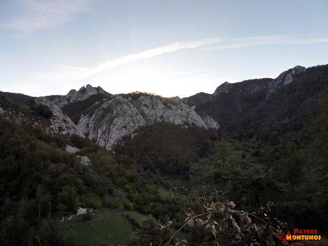 Ruta del Tiatordos: Vista.