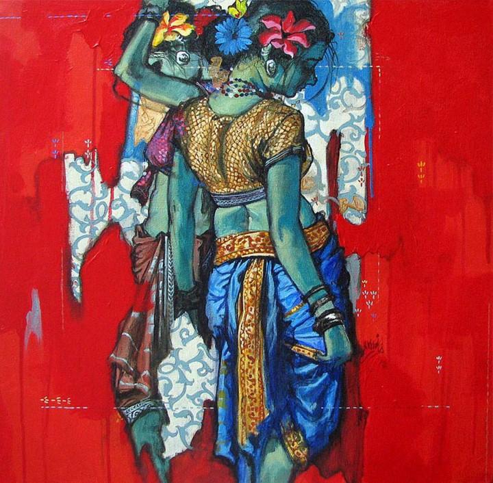 Ramchandra Kharatmal. Художник из Индии 23