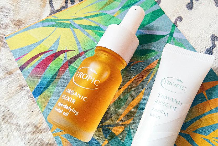 Tropic Organic Elixir; Tropic Tamanu Rescue Healing Balm