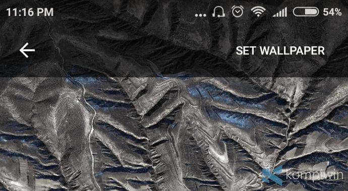 cara ganti wallpaper secara otomatis di android