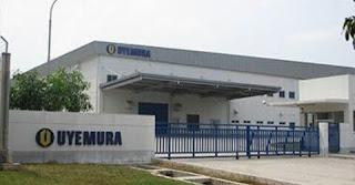Info Lowongan Kerja Untuk D3 Operator PT Uyemura Indonesia Karawang