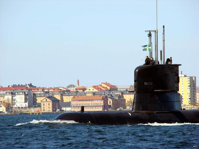 Szwedzka łódź podwodna