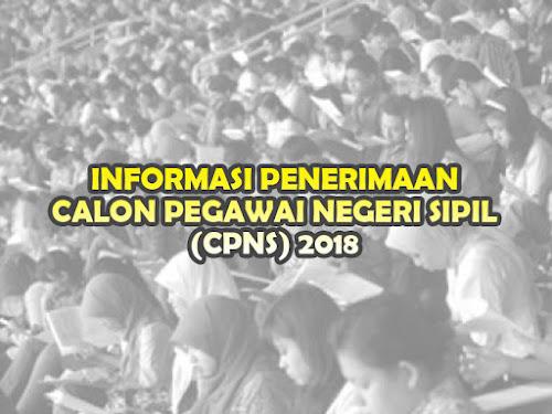 Informasi penerimaan CPNS 2018