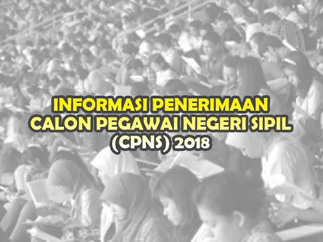 Informasi Seputar Penerimaan CPNS 2018