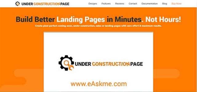 How to Create Coming Soon Pages in WordPress: eAskme