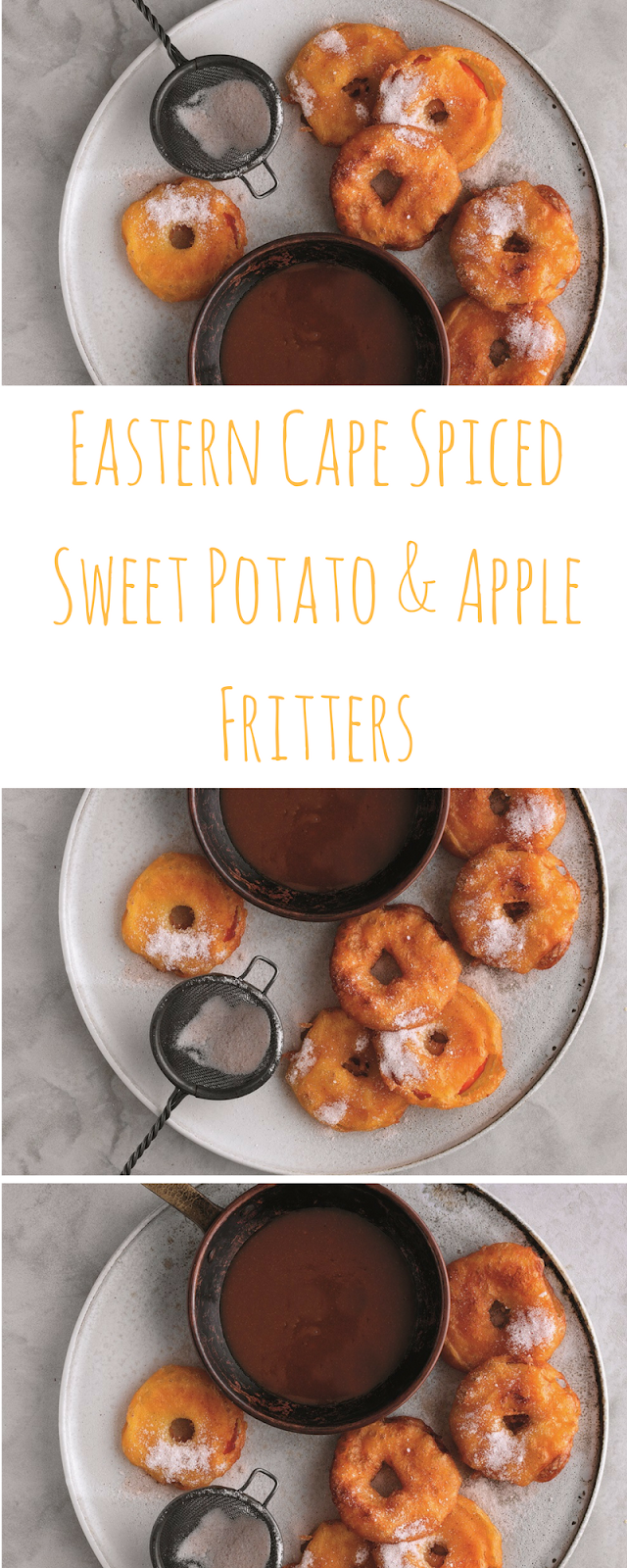 Eastern Cape Spiced Sweet Potato And Apple Fritters