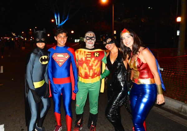 DC Superheroes West Hollywood Halloween costumes