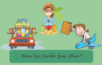 5 Tipe Traveller, Sahabat Termasuk Yang Mana?