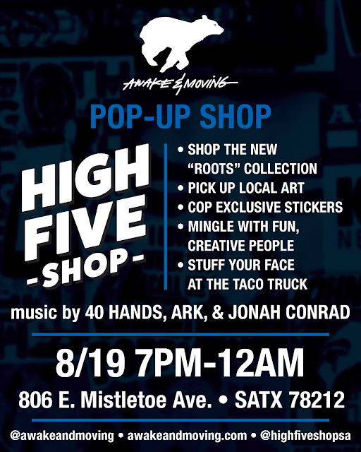High Five Shop. San Antonio, TX.