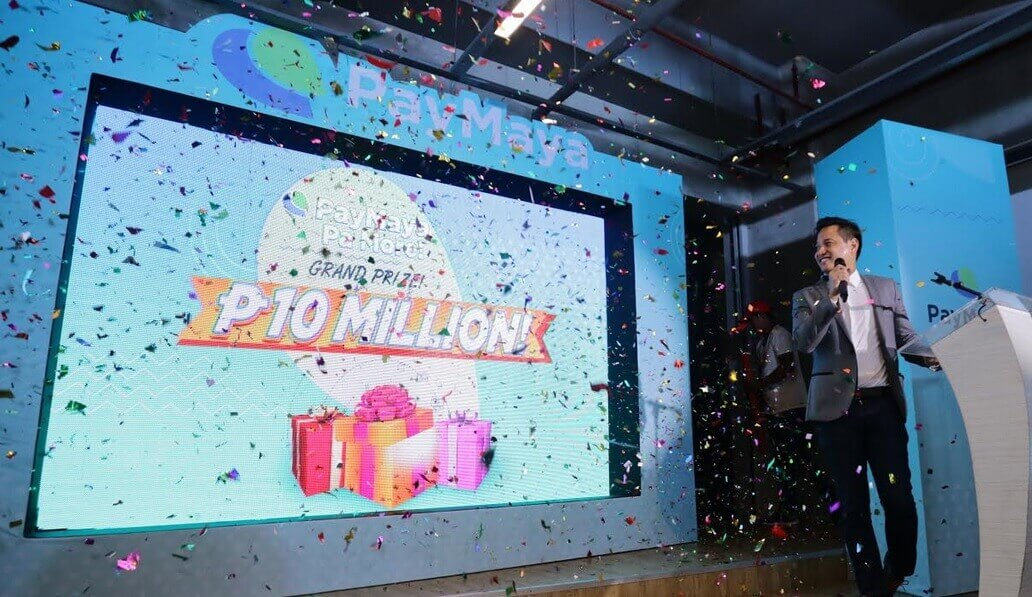 Win Php10K Daily or Php10M in the Grand Draw with PayMaya Pa More Promo