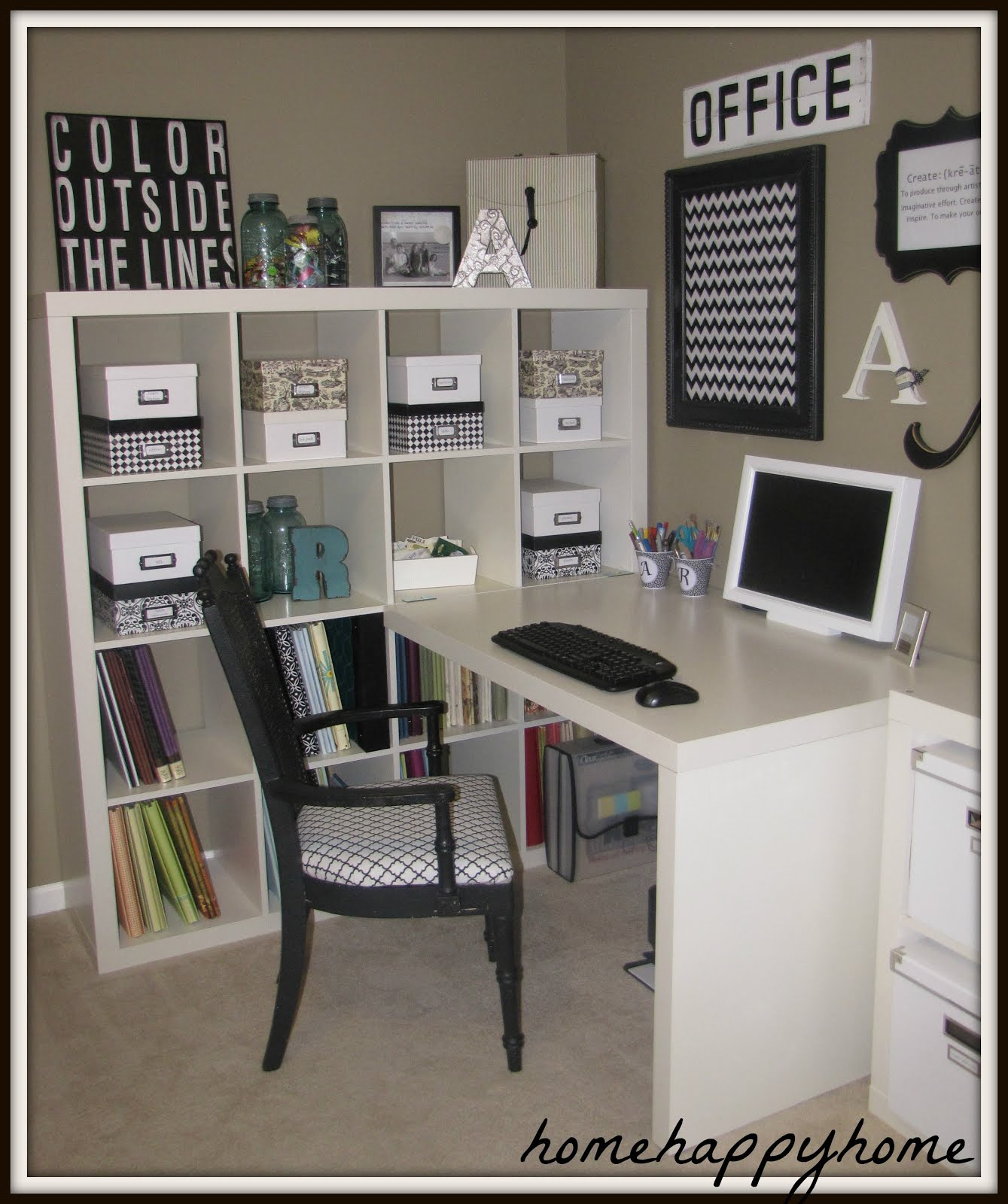 home happy home: My new craft room - Images Of Ikea Storage For Livingroom