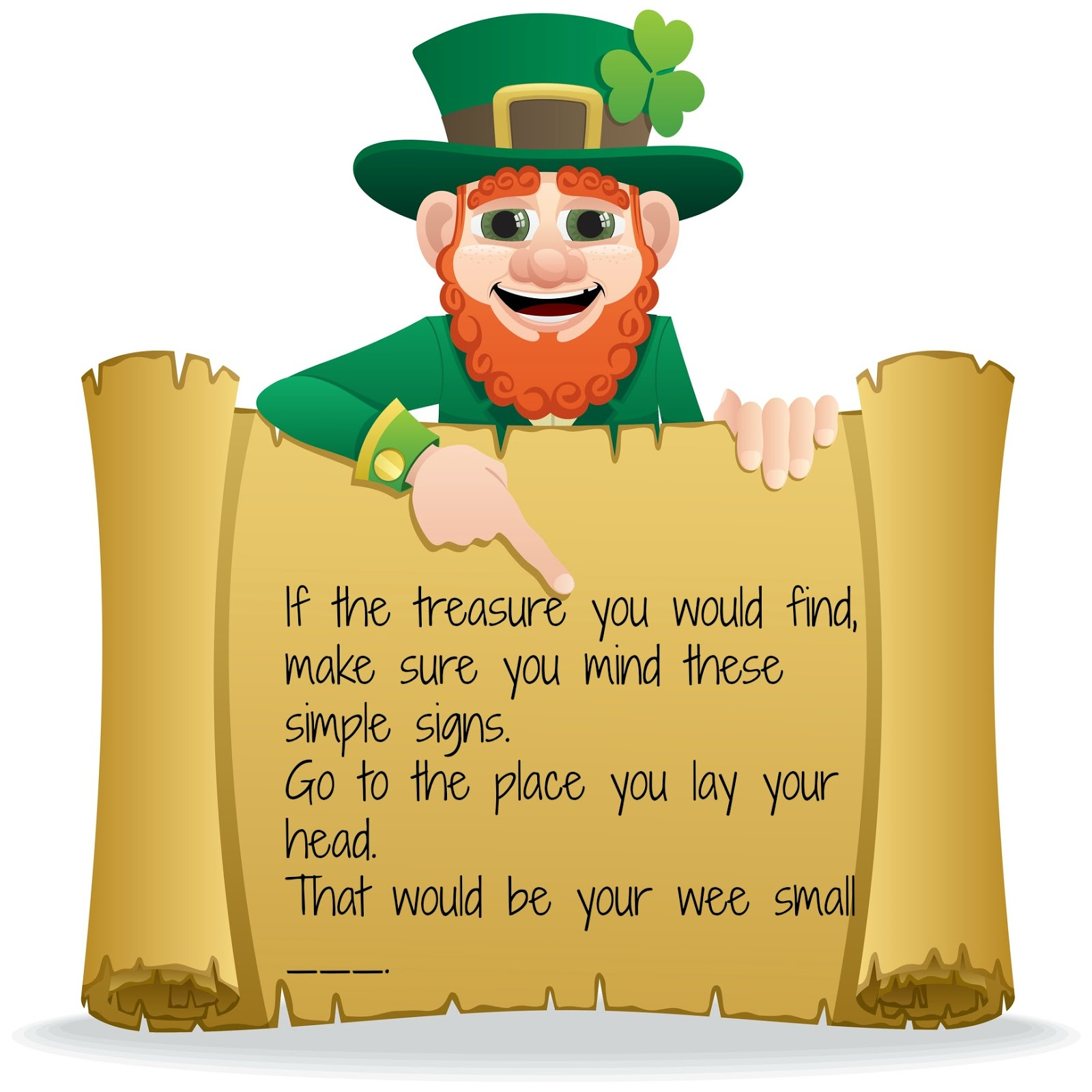 Puddle Wonderful Learning Leprechaun Treasure Hunt With Qr Codes