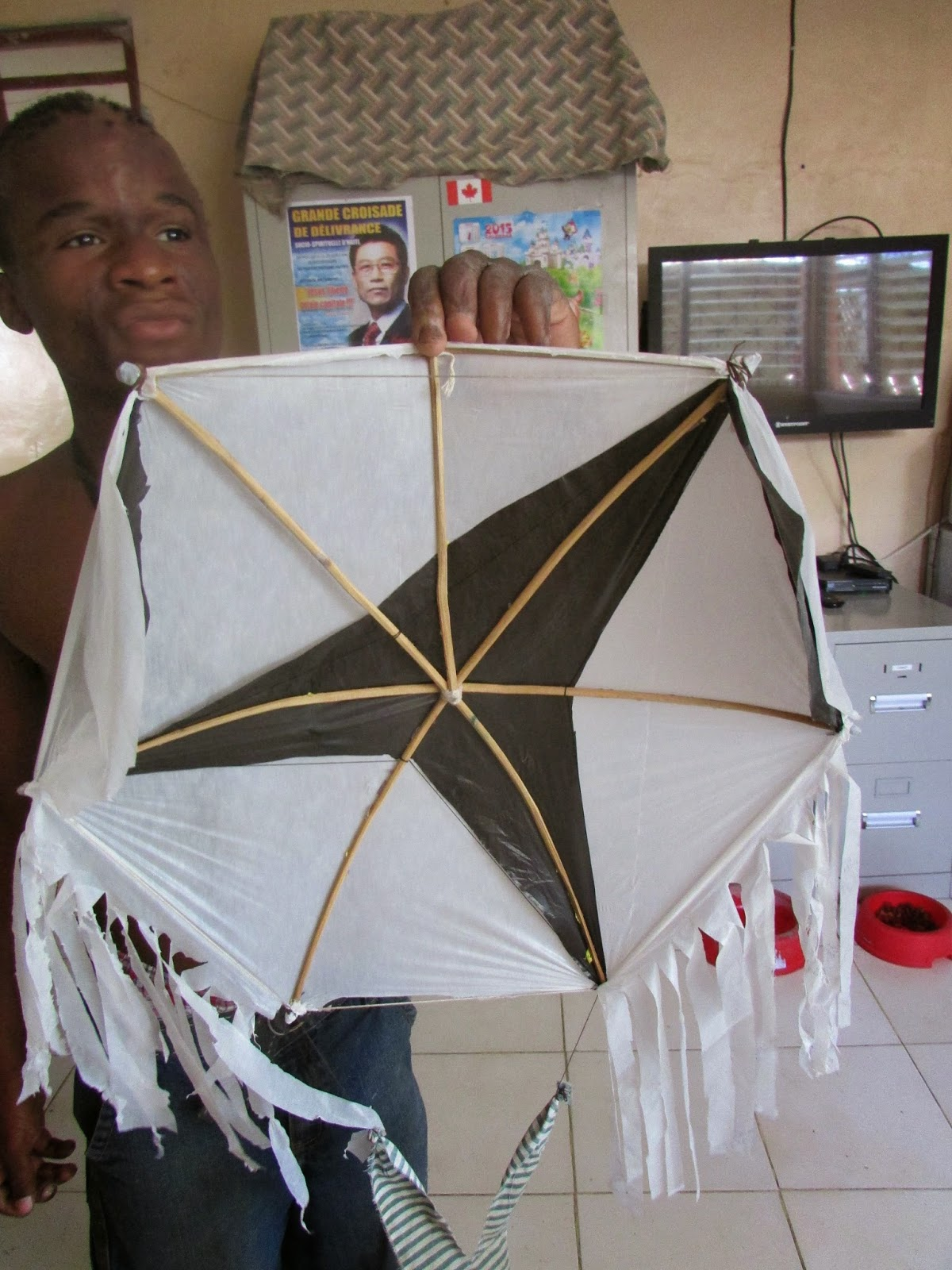 how to make a haitian kite