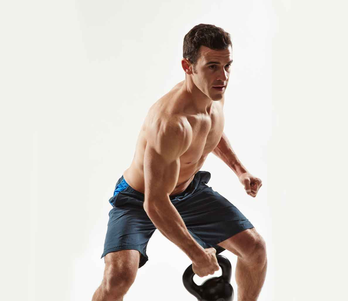 The Kettlebell Snatch - 1 of the Best Exercises For Belly Fat Going Today!