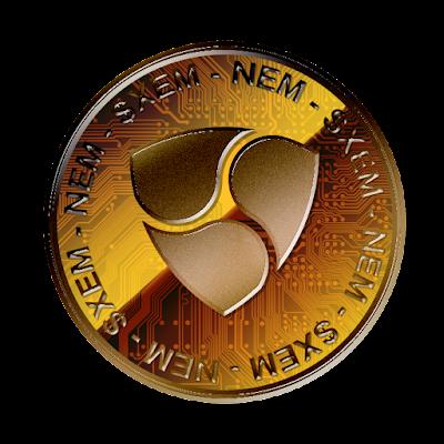 NEMのフリー素材(銅貨ver)