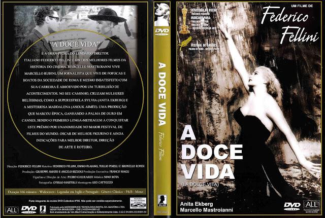 Capa DVD A Doce Vida