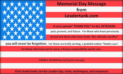 Happy Memorial Day 2016: memorial day message, a very special thank you to all veterans