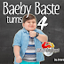 Baeby Baste Turns 4 | Honey Glaze Cakes