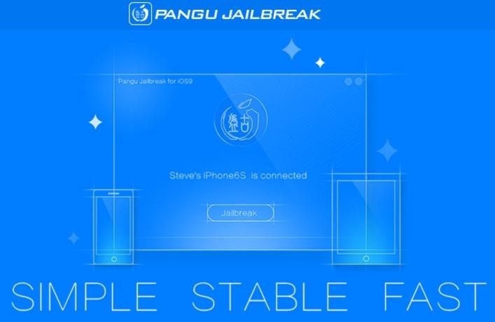 PanGu iOS 9 Jailbreak Tool