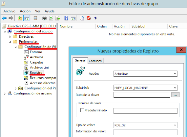 Windows: Configurar autologin con una GPP