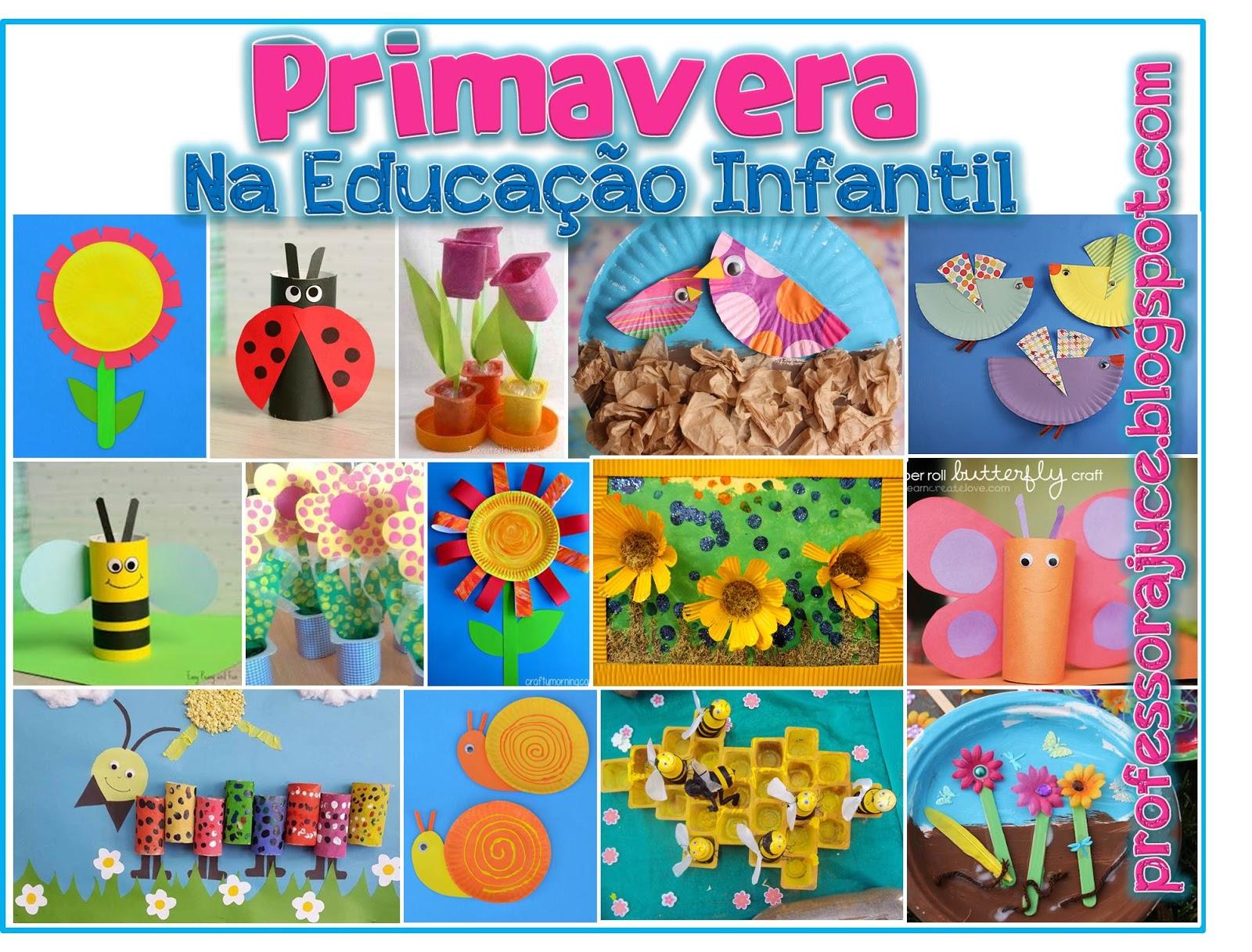 Top Professora Juce: Ideias para Primavera na Educação Infantil VF28