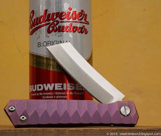 FURA Razor titanium flipper with D2 blade