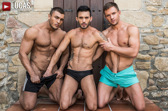 LucasEntertainment - BROCK MAGNUS AND ANDREY VIC DOUBLE-TEAM ANDY STAR RAW
