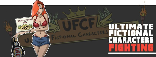Illustrationen : UFCF Crossovers Championship | Epic Fictional Fights von Felipe Capra ( 9 Bilder )