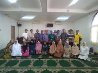 Edukasi Kesehatan kpd Jamaah Haji Kbih An Nadwah bersama Susu Haji Sehat, Masjid Cut Mutia Menteng Jakarta