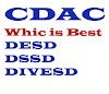 Which course is better among DESD, DSSD, DIVESD?