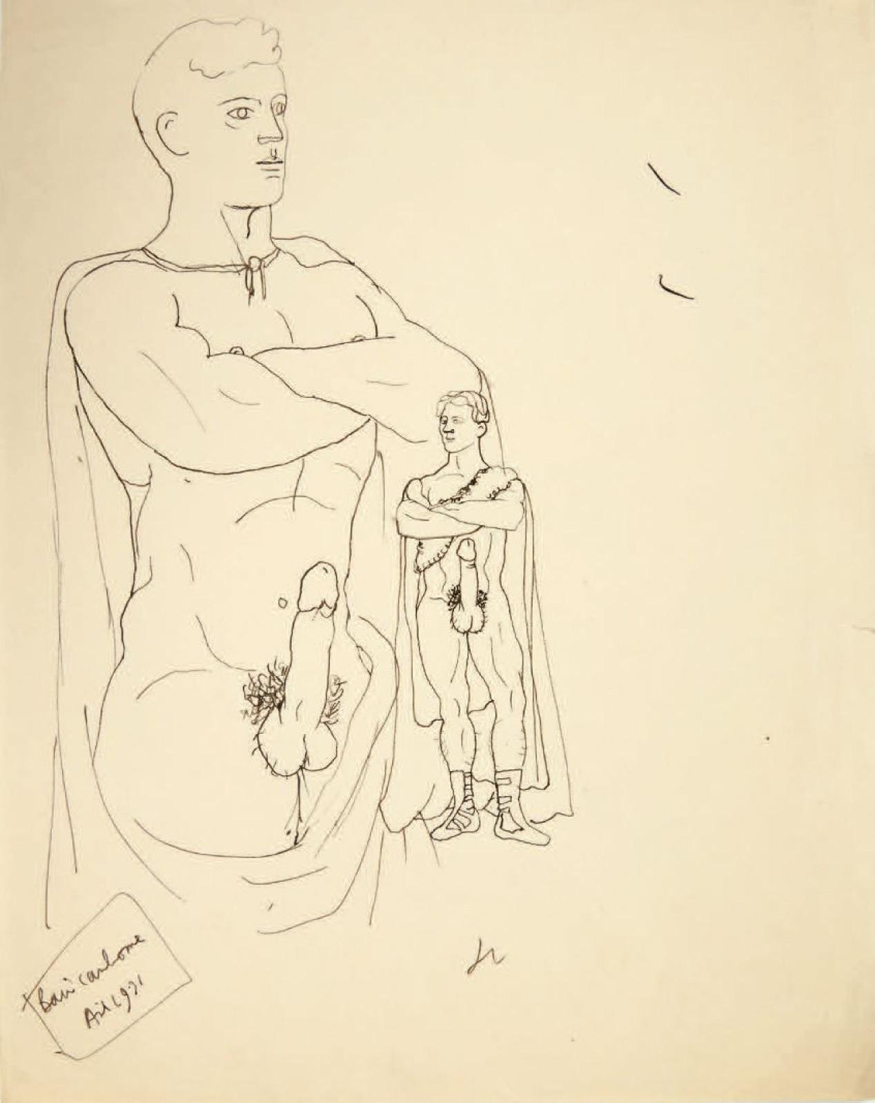 2f20e2fc763 Bibliothèque Gay  Une belle série de Jean Cocteau