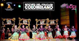 Noches del folclor Colombiano 2