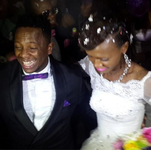 Photos From Gospel Singers Jahdiel And Eben's White Wedding