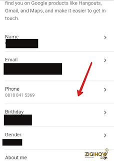 HOW TO ADD OR REMOVE YOUR PHONE NUMBER IN YOUR GMAIL ACCOUNT 2