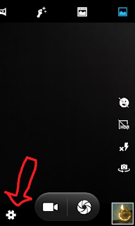 Micromax unite 2 camera app settings icon