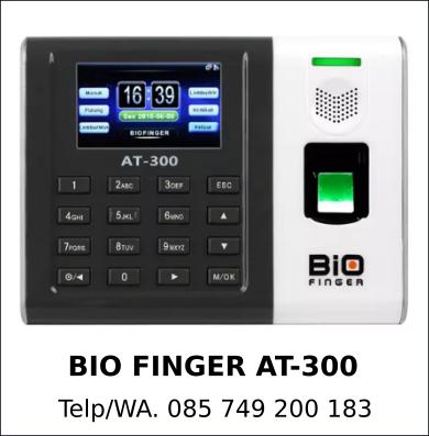 Jual Bio Finger AT-300 Murah Berkualitas