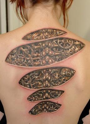 tatuaje en a espalda