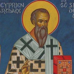 СВ. СВЯЩЕННОМУЧЕНИКЪ КИПРІАН: Письмо къ папѣ Стефану о соборѣ