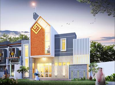 Pembangunan Rumah Tahfidz - Tampilan Depan Rumah
