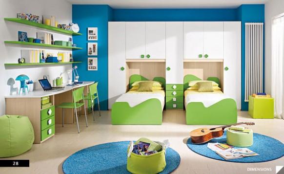 20 Bellos Disenos De Habitaciones Infantiles Bonitadecoracioncom - Diseos-habitaciones-infantiles
