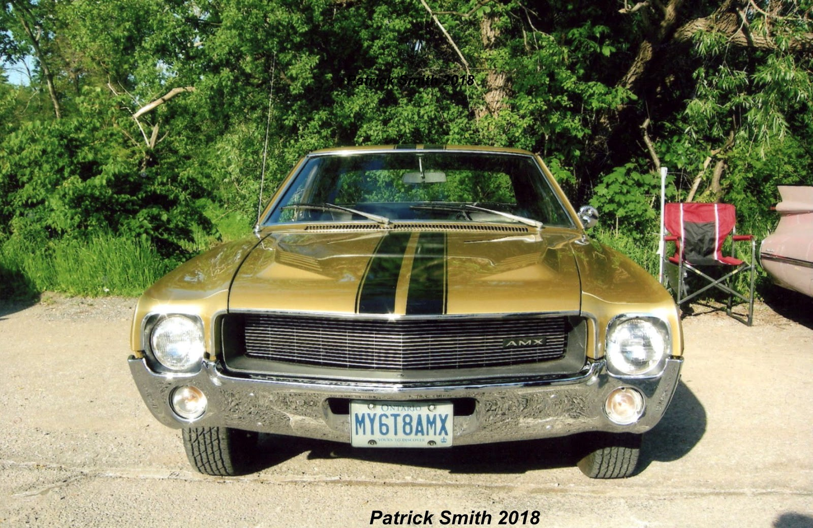 American Classic 1968 Amx 390 4 Speed Phscollectorcarworld Javelin Wiring Diagram