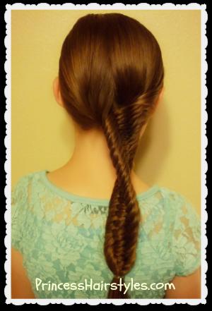 Phenomenal 3 Strand Fishtail Braid Hairstyle Hairstyles For Girls Hairstyles For Women Draintrainus