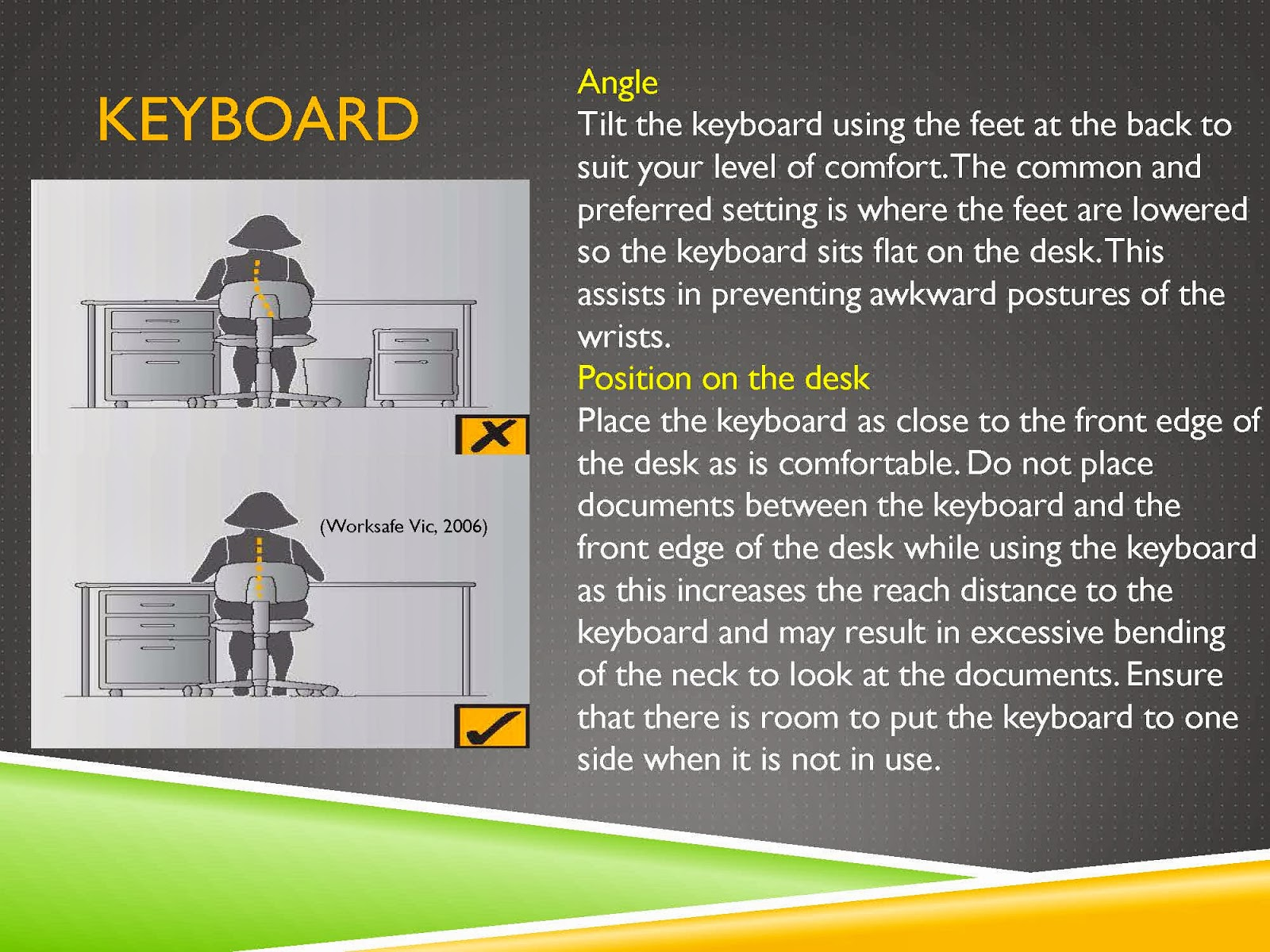 KEYBOARD TIPS