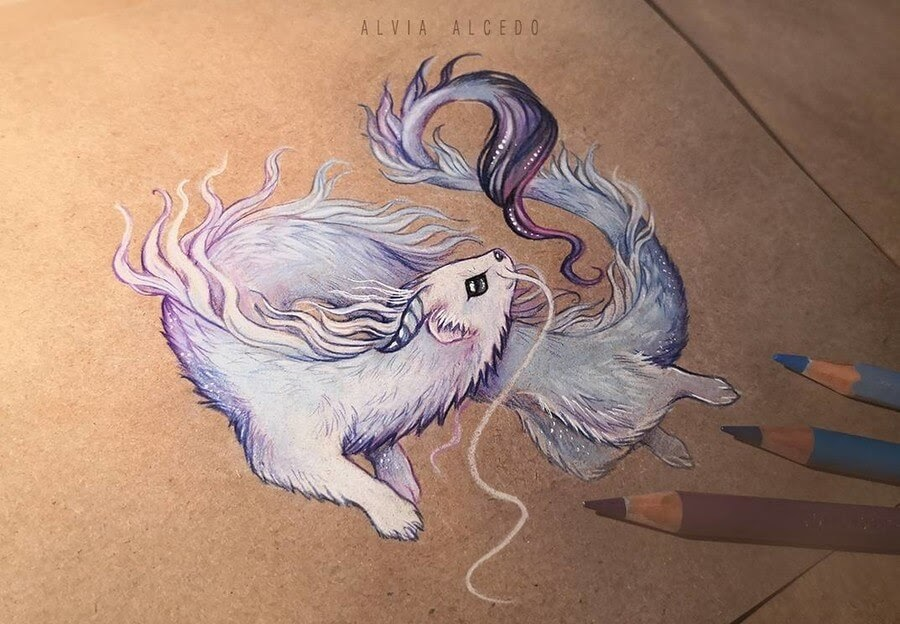 09-Ermine Dragon-Alvia-Alcedo-www-designstack-co