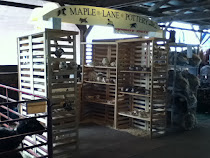 Maple Lane Pottery Booth