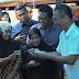 Warga Pasar Tolang Tapsel Gantungkan Harapan Kepada Djarot-Sihar